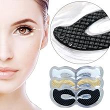 4/3/1pcs 24K Gold Black Charcoal Collagen Eye Mask Eye Patch