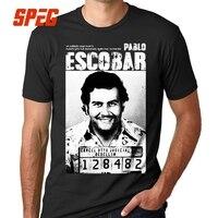 Футболка с Пабло Эскобаром мужские футболки из 100% хлопка, большие размеры, футболка с короткими рукавами