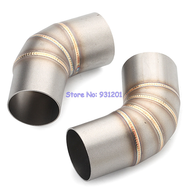 Exhaust-Middle-Pipe DUCATI Slip-On Link-Pipe Mufflers 51mm Motorcycle for 796/795