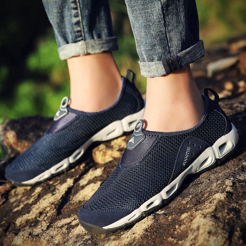 e3c9883c8b30 TKN zapatos de agua para hombre para nadar malla de secado rápido  zapatillas de senderismo hombres ...