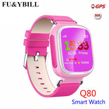 Q80 Children's GPS Positioning Smart Phone Watch 1.44 Inch Color Anti Lost Two-way Call Watch PK Q90 Q60 Q730 Q750 Q50(China)