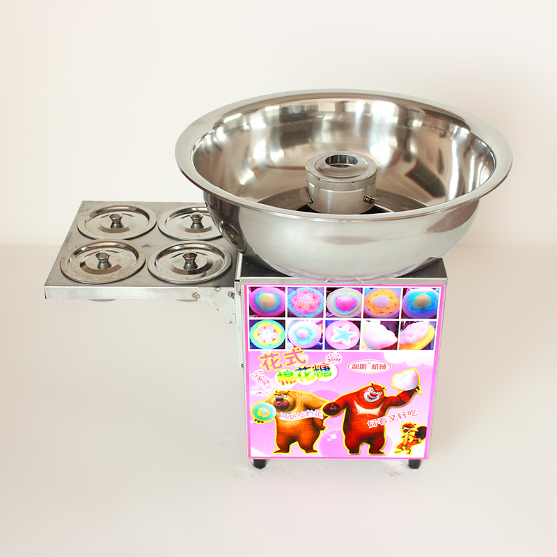 Stainless Steel Commercial Gas Fancy Cotton Candy Maker Machine Sweet Floss Cotton Candy Maker Machine For Business Snack