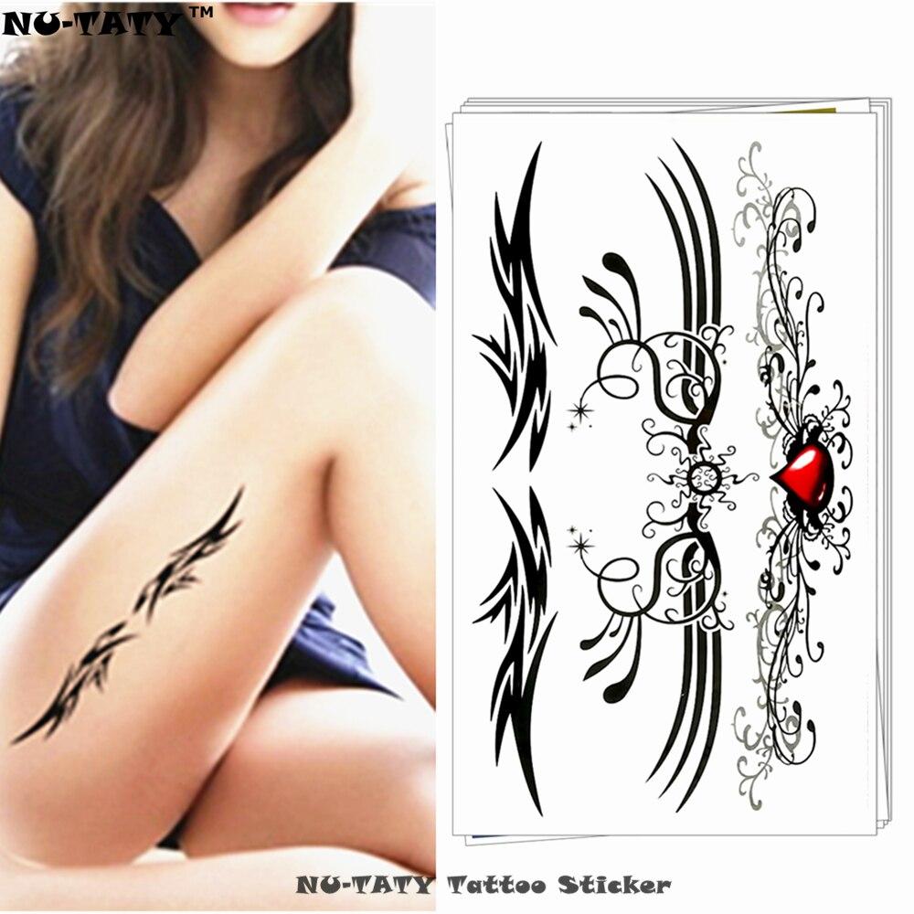 ᗑnu Taty Skrzydła Styl Totem Tymczasowe Tatuaże Flash Tatuaż