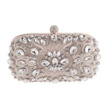 Luxury Crystal Party Diamonds Purses Evening Clutch Bags Wedding Party Prom Handbags Women's Evening Bags Small Mini Gifts Bags