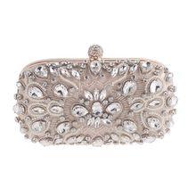 Luxury Crystal Party Diamonds Purses Evening Clutch Bags Wedding Prom Handbags Womens Small Mini Gifts