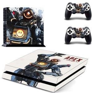 Image 4 - Jeu Apex légendes PS4 autocollant de peau autocollant vinyle pour Sony Playstation 4 Console et contrôleur PS4 autocollant de peau
