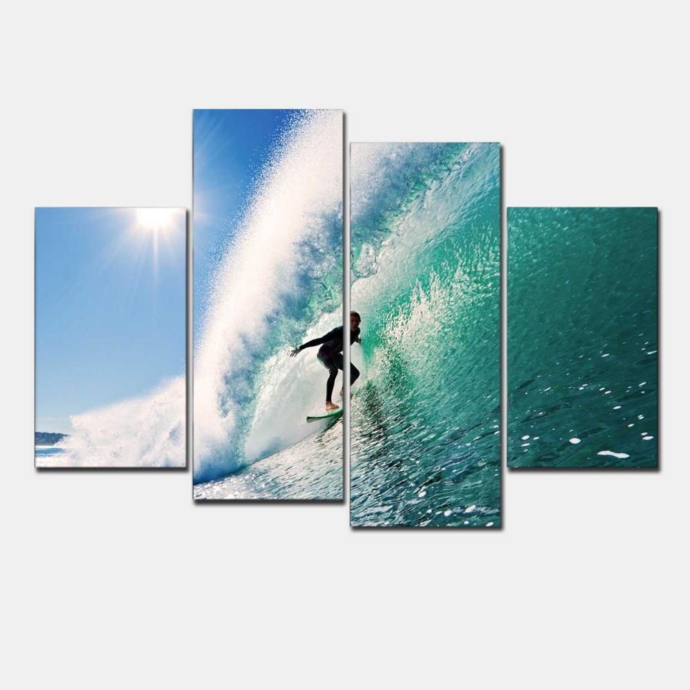 Online kopen wholesale hawaii schilderijen uit china hawaii ...