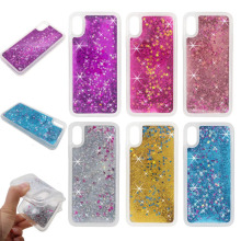 For iphone 8 Case Luxury Glitter Dynamic Liquid Colorful Quicksand Love Sequins for iphone8 Bling Shining