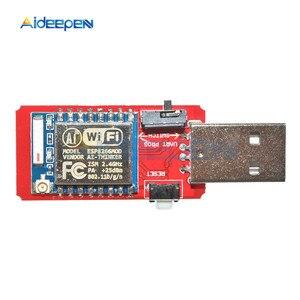 Image 3 - CH340 USB إلى ESP8266 ESP8266 ESP 07 لوحة تطوير WIFI صغيرة متحكم لاسلكي مبرمج مهايئ وحدة Wifi