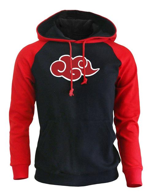 Sweatshirt Print Naruto Akatsuki Red Cloud Pullover