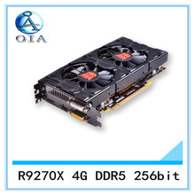 New Original Desktop Graphics Card R9270X 4G DDR5 256bit desktop computer independent  game  card  free shipping
