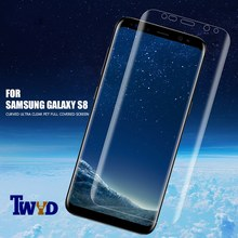 3pcs/Lot 3D Screen protector for Samsung Note 8 9 Galaxy S8 Plus S9 S7 S6 edge Soft PET film Full Coverage Not Tempered Glass(China)