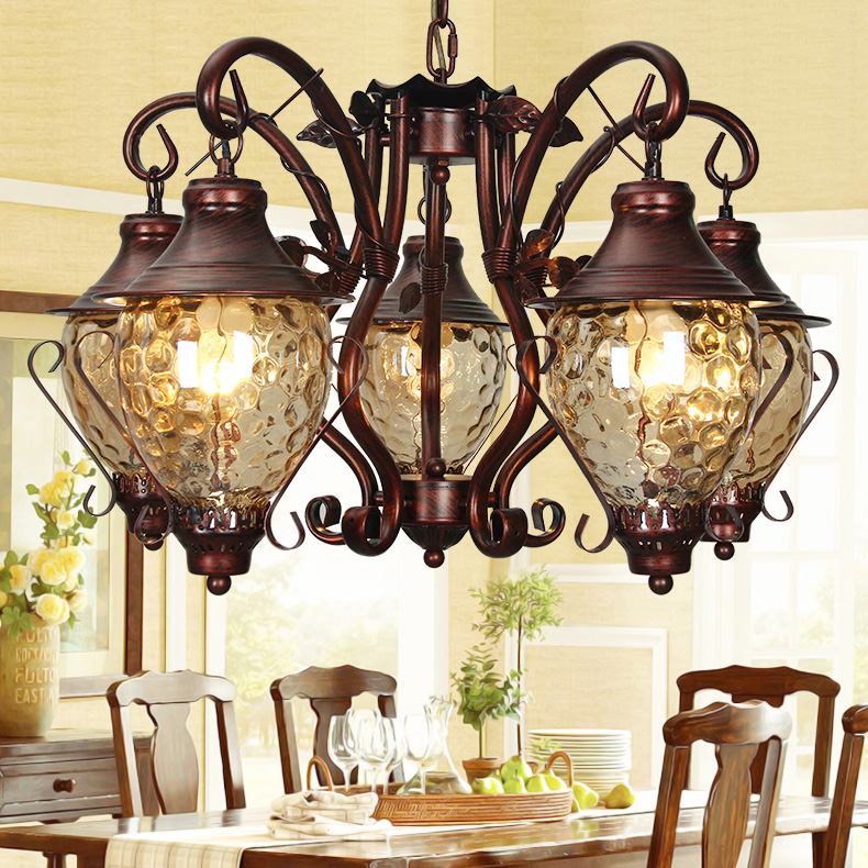 Contemporary Dining Room Chandeliers: Contemporary Nordic Retro Country Hanging Chandeliers