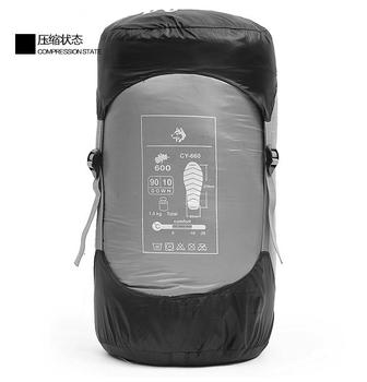 Jungle King Winter explosion ultra-light adult outdoor 800g down sleeping bag thickening can be stitching camping -25 degrees 6