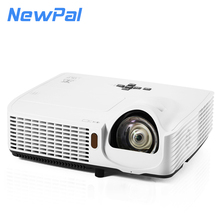 3500 Lumen Projector Red-Blue 3D Full HD 1080P DLP Projector Reflective for White Board