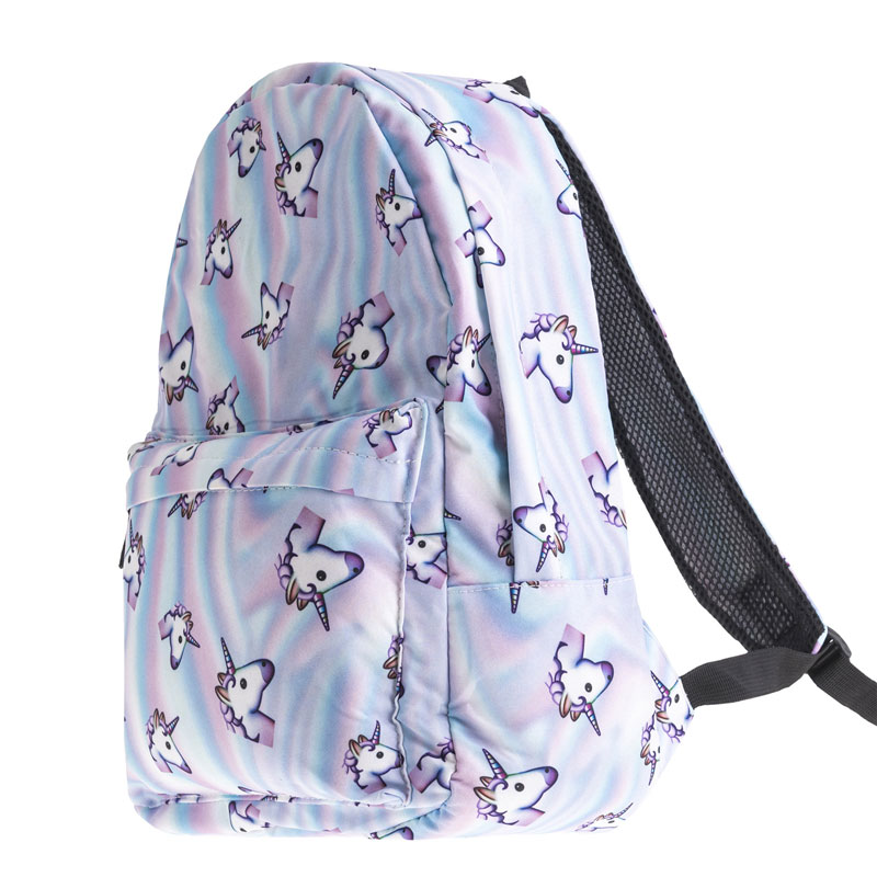 Cute Animal Children Panda Backpacks Cartoon Rainbow Unicorn Design Water Repellent Knapsack Teenager Girls bookbags Mochila in Backpacks from Luggage Bags