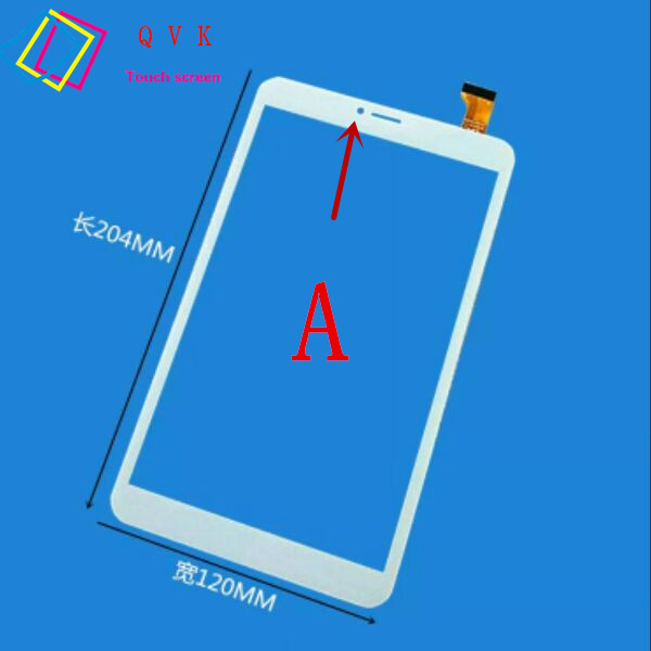 Black 8 Inch for Irbis TZ861 TZ862 TZ863 TZ864 tablet pc capacitive touch screen glass digitizer panel Free shipping new for 8 irbis tz861 tz862 tablet capacitive touch screen touch panel digitizer glass sensor replacement free shipping