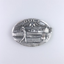 Jeansfriend New Original Vintage Golf Club Sport Belt Buckle Gurtelschnalle Boucle de ceinture