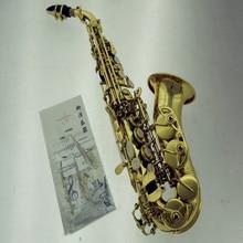 Янагисава изогнутые сопрано Янагисава S991 золото латунь саксофон профессиональный мундштук патчи колодки Reeds изгиб шеи подарки