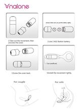Nalone-TQ Tango Sex Bullet Vibrator for Woman Silicone Rings for Man Adult Sex Toys For Couple Waterproof