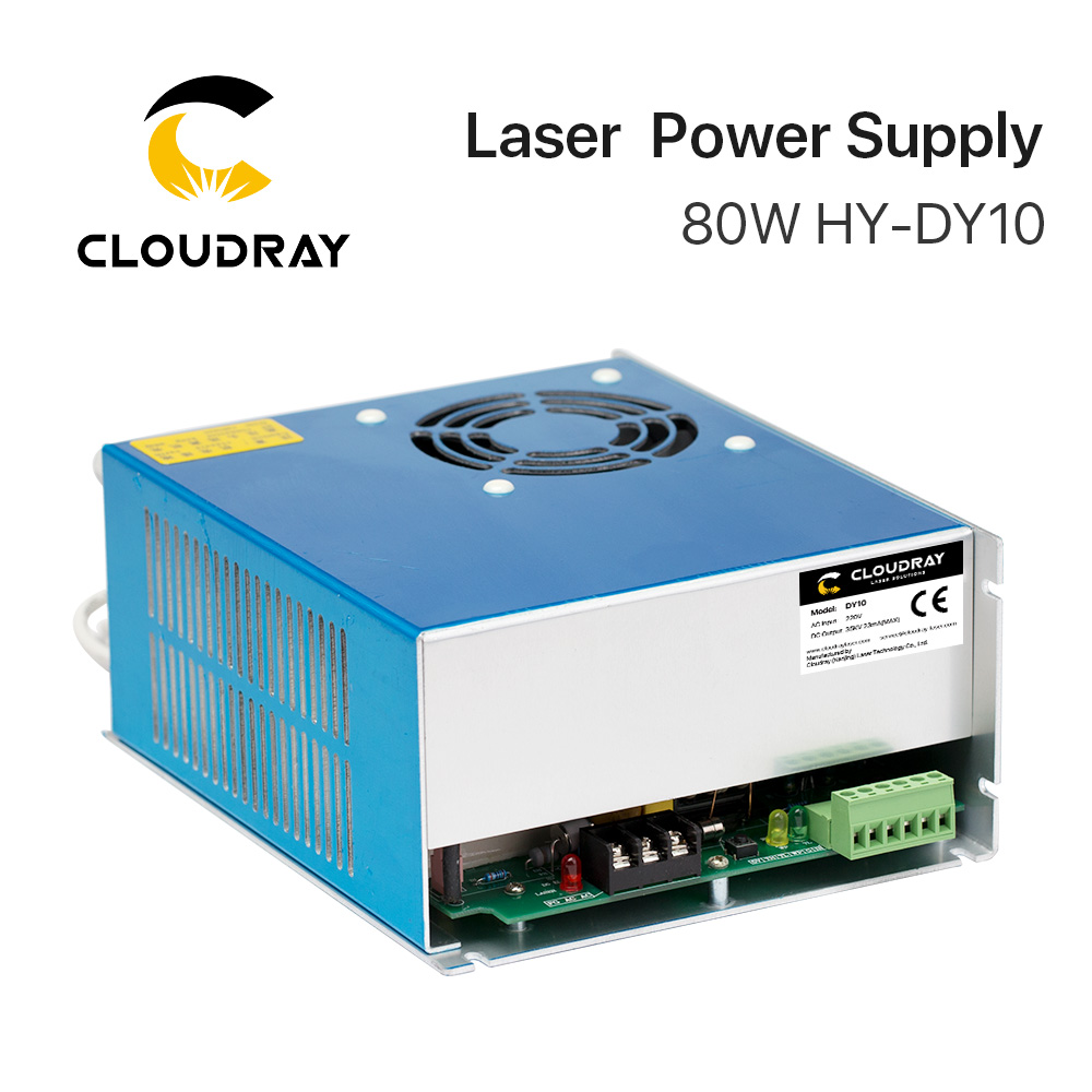 Cloudray DY10 Co2-laservoeding voor RECI W1 / Z1 / S1 Co2-laserbuisgravure / snijmachine DY-serie