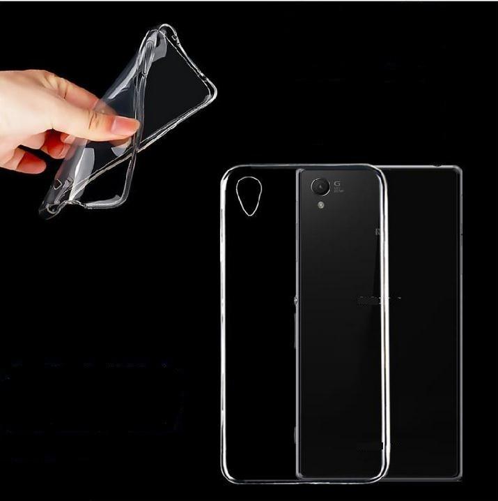 Ultradünne kristallklare transparente TPU-Gel-Schutzhülle für Sony Xperia Z1 Z2 Z3 / Z5 Z3 Compact Z4 M4aq M2 M5 C4 C5 E4 T2 T3
