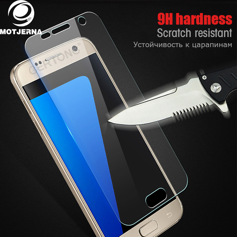 Motjerna Tempered Glass For Samsung Galaxy S3 S4 S5 S6 A3 A5 2014 A7 J1 J3 J5 2015 S3 S4 mini Screen Protector Toughened Film
