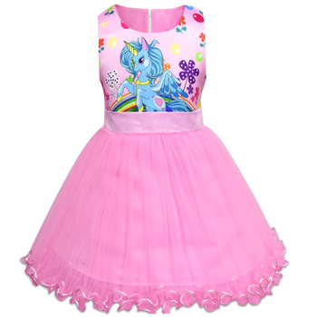 Little Unicorn Princess Dresses