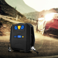 DC 12V Auto Air Compressor Pump For Kinds Of Vehicles ABS LED Display Tire Inflator Pump