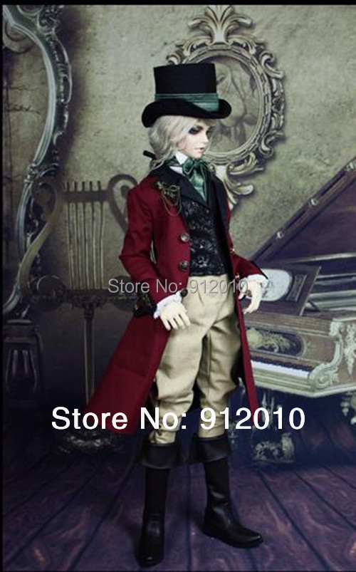 Limited CRANFORD European Gentleman Outfit Suit for BJD Doll SD10 SD13 SD17,Uncle, SOOM IP EID BJD DOLL Clothes LF20 doll transparent umbrella for bjd 1 3 sd10 sd13 sd17 uncle ip soom bjd doll accessories ac25