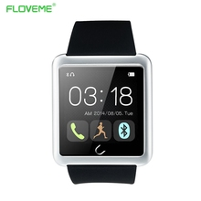 Floveme d2 moda sport fitness rastreador reloj hombres mujeres podómetro bluetooth smart watch para apple ios samsung android teléfono