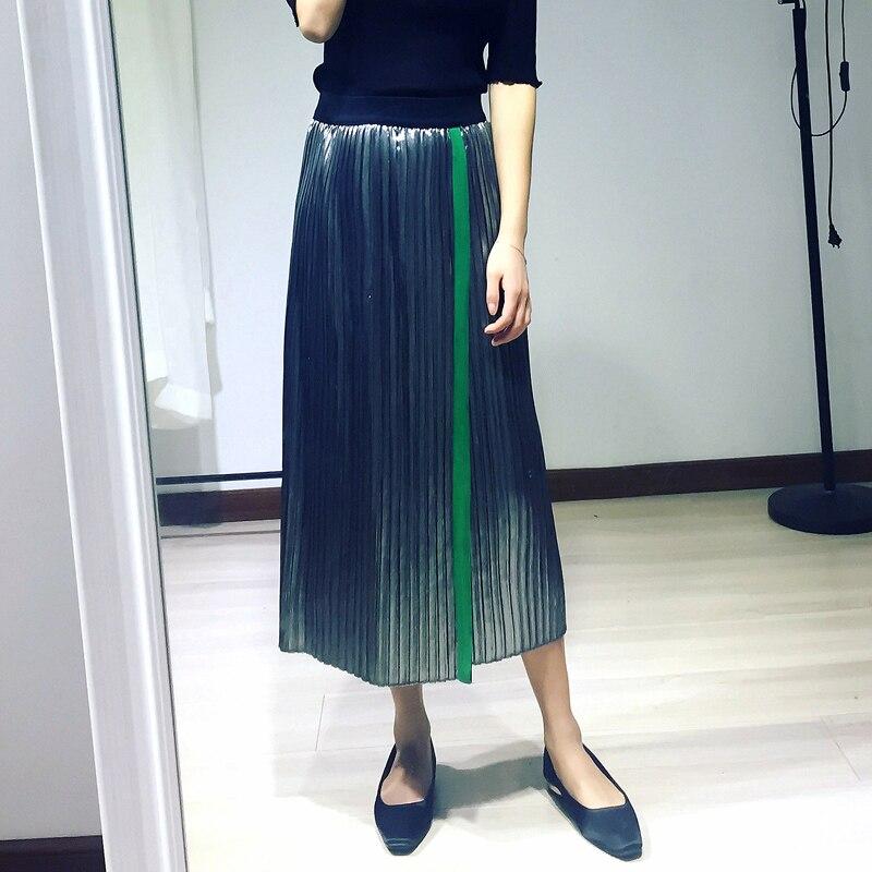 Драпировать длинную юбку