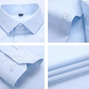 Image 5 - Mens Short Sleeve Big Shirt Large Size 10XL 11XL 12XL 13XL 14XL Business Office Comfortable Summer Lapel Red Shirt 8XL 9XL