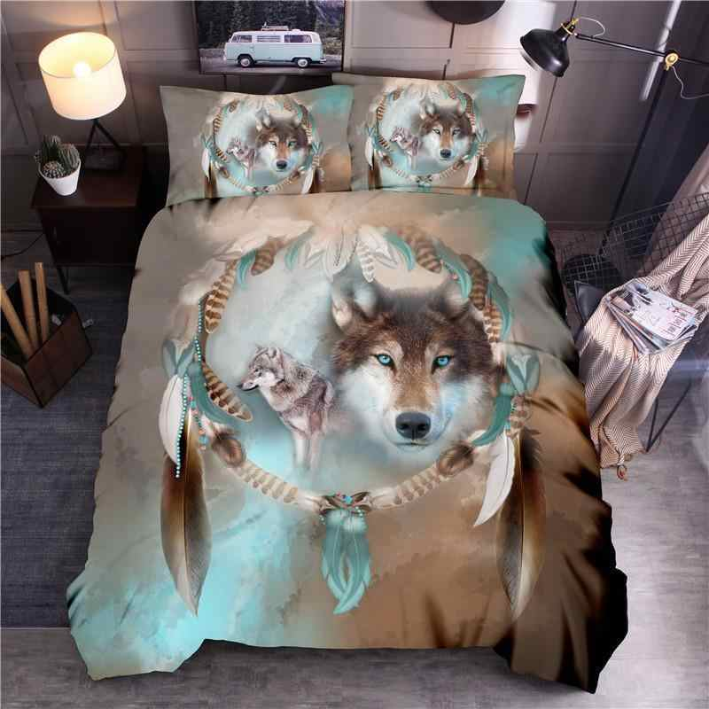 LOVINSUNSHINE 3D Printing Bedding Set King Comforter Bedding Set Queen Duvet Cover Set SD02#