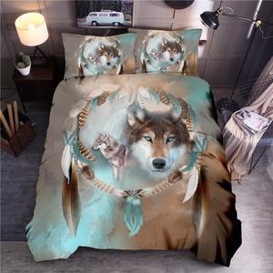Image 1 - LOVINSUNSHINE 3D 印刷寝具布団寝具セットクイーン布団カバーセット SD02 #