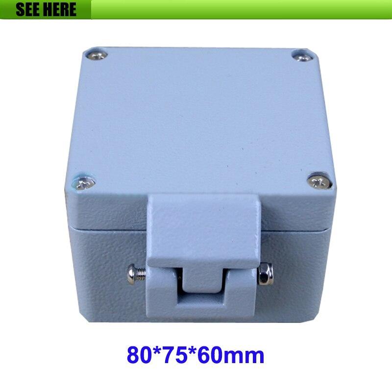 80*75*60mm IP66 Electrical waterproof Aluminium Enclosure box Metal Electric Box 320 240 140mm 2015 high quality ip66 electrical waterproof aluminium enclosure box with 4 screws