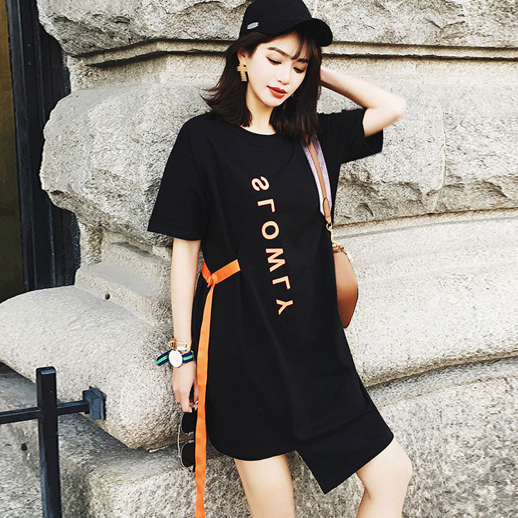 Ladies Lengthy T shirt Trend Informal Punk Rock Pok Lengthy T Shirt Vestidos Ladies's Clothes Garments Tops T-Shirts, Low-cost T-Shirts, Ladies Lengthy T shirt Trend Informal Punk Rock Pok...