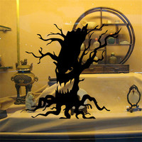 3D DIY PVC Wall Window Stickers Halloween Decoration Wall Decals Ghost Design Home Decor Furniture Bedroom