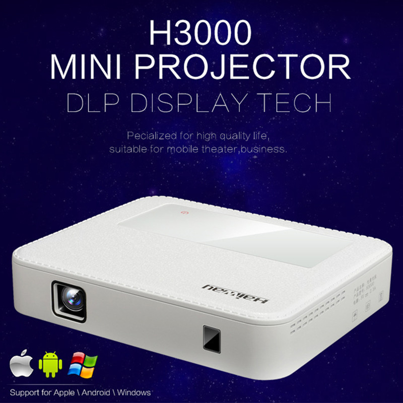 H3000 Andriod HDMI 1080P Mini wifi projector AV LED Digital Video Game portable Projector Inputs AV VGA USB SD