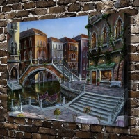 1165 Venetian Sunrise Robert Finale Landscape HD Canvas Print Home Decoration Living Room Bedroom Wall Pictures
