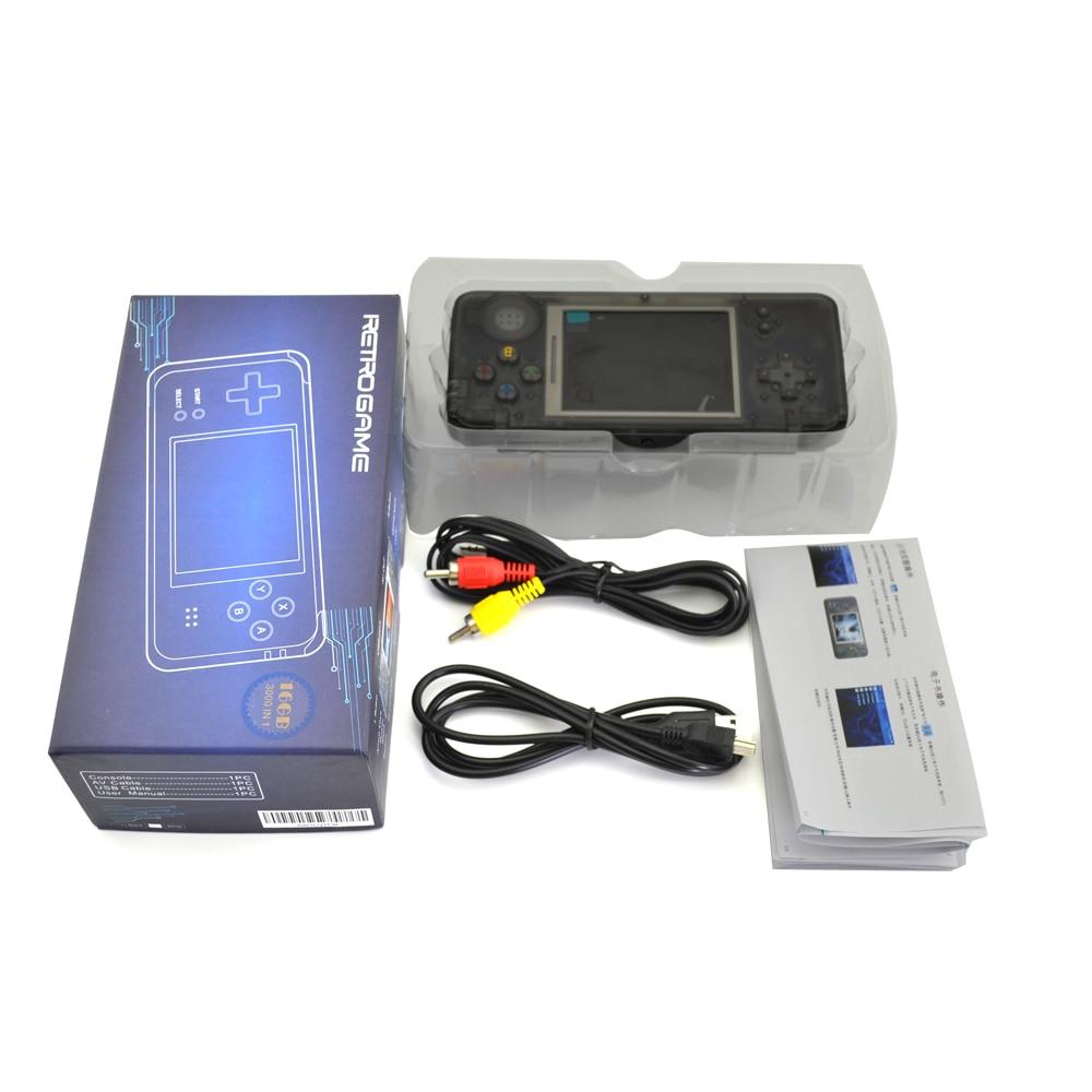 Console de jeu portable écran LCD 8 bits 3000 en 1 lecteur de jeux rétro pour NEOGEO pour SEGA pour G B A enfants et adultes