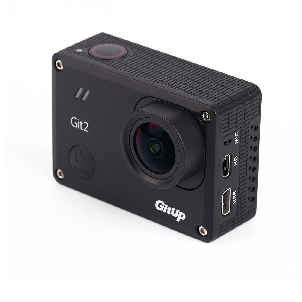Wholesale 1pcs GitUp Git2 Standard Edition 2K HD WiFi Action Camera DV Action Camera FPV Camera gitup git1 1 5 inch lcd wifi rf control action camera