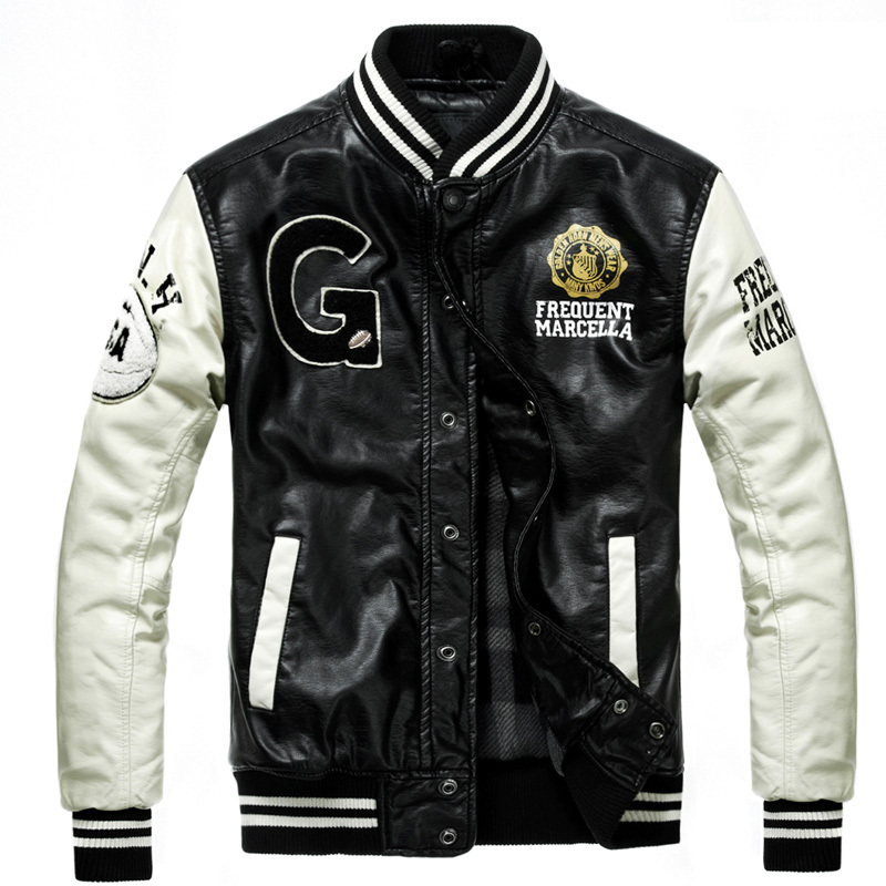 Mens Leather Baseball Jackets Reviews - Online Shopping Mens ...