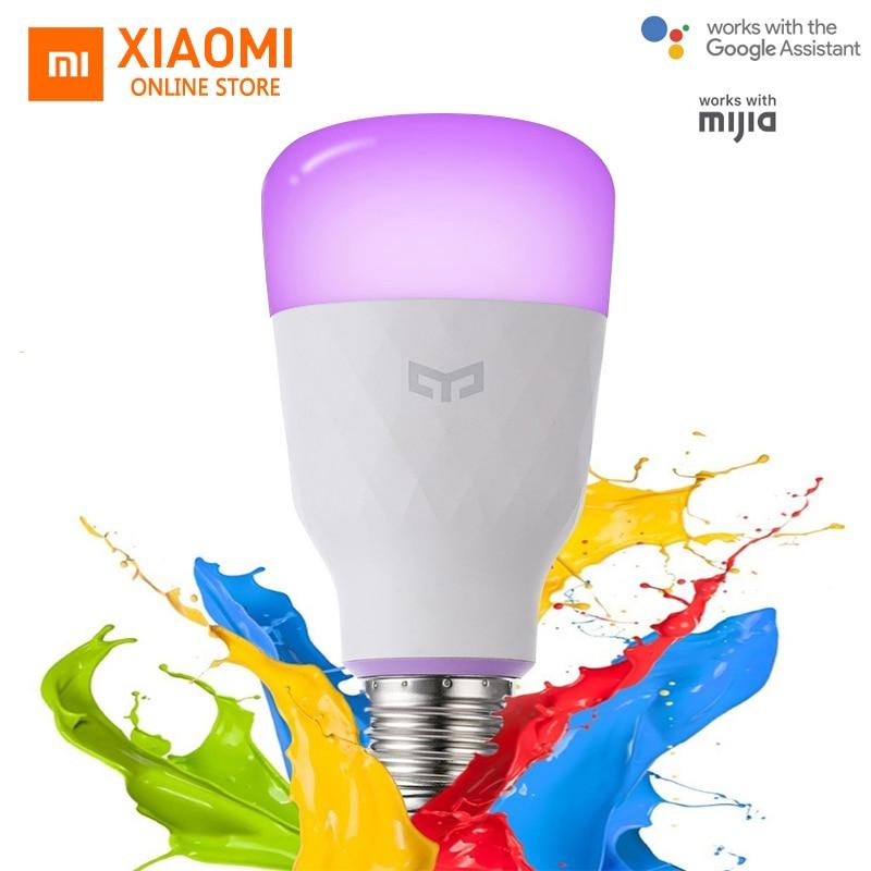 Update Version Xiaomi Yeelight Smart LED Bulb E27 10W 800lm WIFI Bulb For Desk Lamp Bedroom Via App Remote Control White/RGB