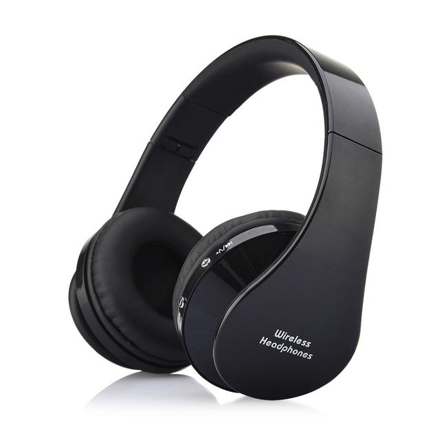 Headfone Casque Audio Manos Libres estéreo Auriculares Auricular Bluetooth Inalámbrico de Auriculares para Ordenador PC Aux Teléfono de La Cabeza