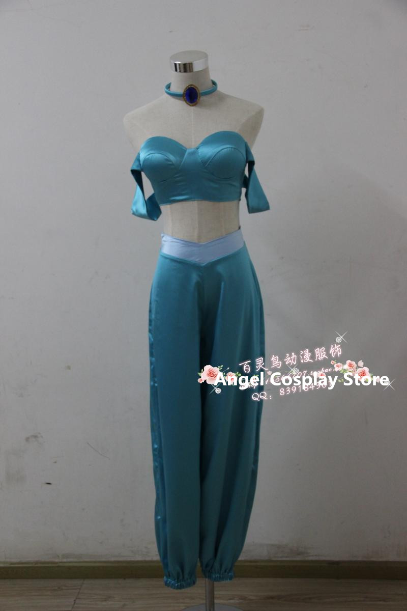 Movie Game The Labyrinth of Magic Magi Aladdin Jasmine Princess Uniform Cosplay Costume Custom Made Any Size