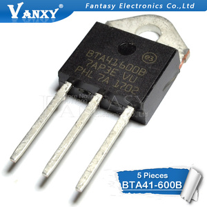 Image 2 - 5PCS BTA41 600B TO 3P BTA41 600 TO3P BTA41600B 41 600B חדש ומקורי IC