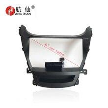 HANGXIAN 2Din Autoradio Fascia frame per Hyundai Elantra 2014 auto DVD gps estero Pannello Dash Kit di Installazione Telaio Trim lunetta