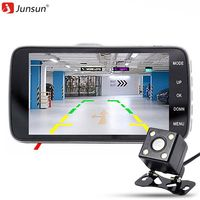 Junsun H6 4 0 Inch 170 Degree Lens Full HD 1080P Car DVR Dual Camera Video