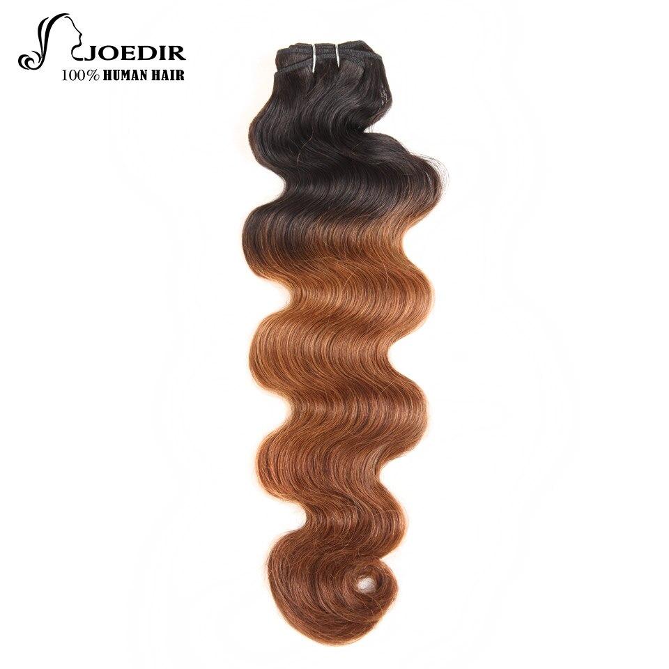 Joedir Hair Extension Brizilian Body Wave Bundles113g/pc Ombre Hair Bundles Remy Human Hair Weave Free Shipping